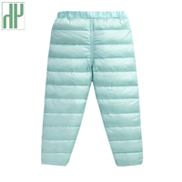 HH Children Pants 90 White Duck Down Girls Warm Pants Clothes Down Kids Baby Leggings Kids