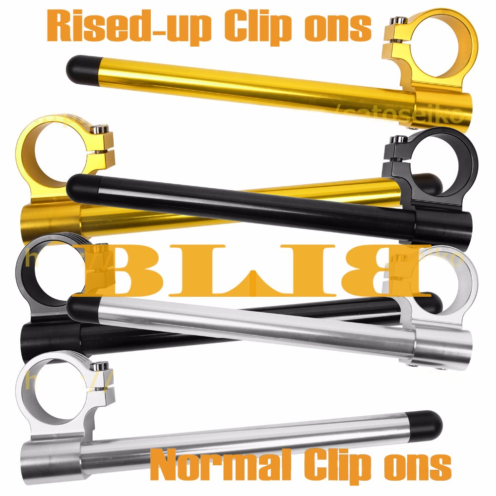 CNC Universal 41 Mm For Honda VTR-1000 F Super Hawk GL-1200 I Interstate L Ltd Clip On Handlebars Normal / Rised-up Handle Bars