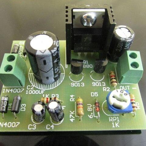 24Pcs/Set Series Transistor Regulator Power Supply Kit Voltage Regulator Module Electronic Component Board DIY Kit Karachi