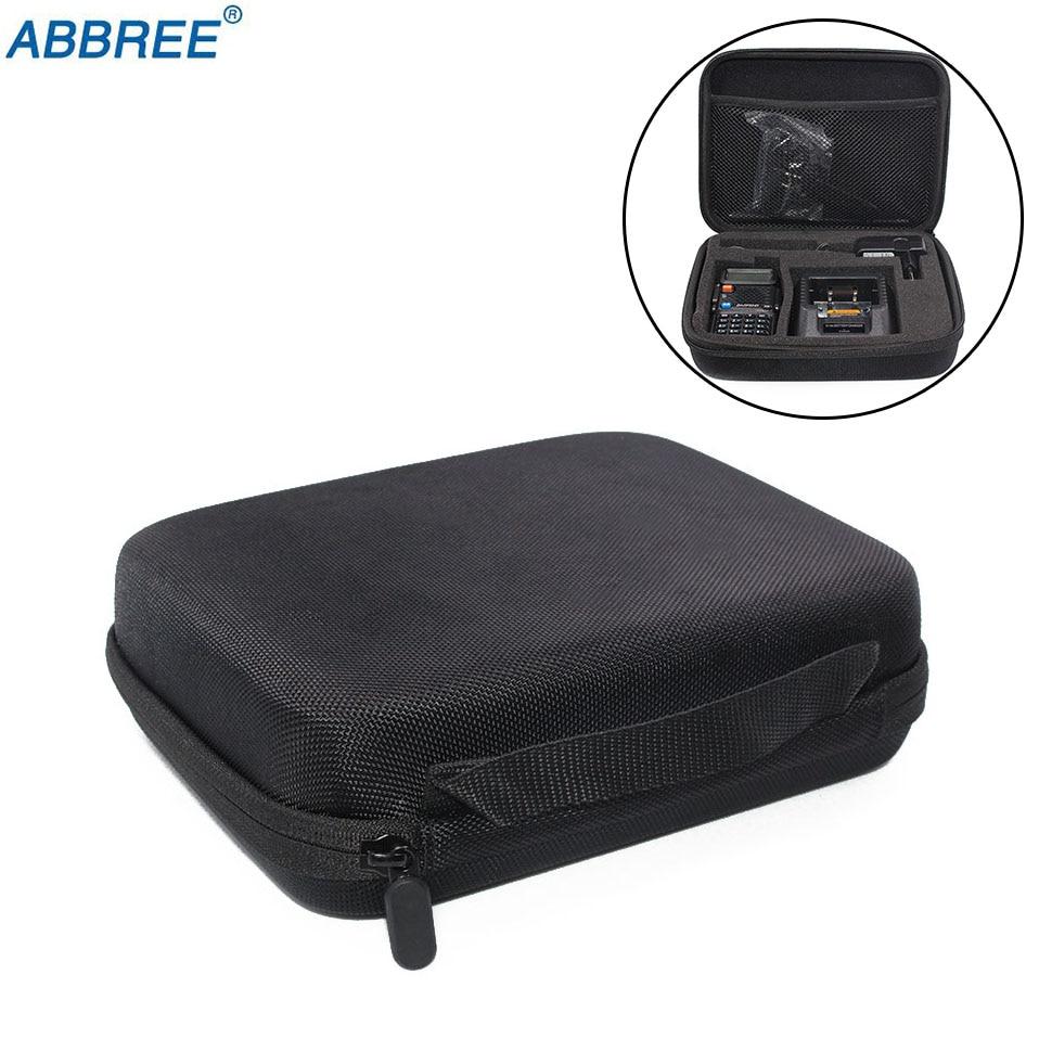 Two Way Radio Carring Case Handbag Storage font b Hunting b font Box Bag For BAOFENG