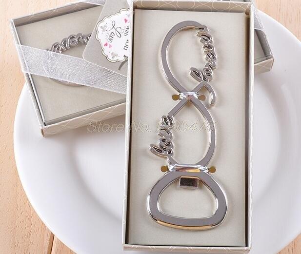 100 piezas amor para siempre abrebotellas recuerdos de boda y regalos de boda para invitados recuerdos de boda suministros de fiesta-in Obsequios para fiestas from Hogar y Mascotas    3