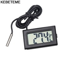 Mini Digital LCD Thermometer Fridge Temperature Sensor Freezer Thermometer for KitChen Bar Use(China)