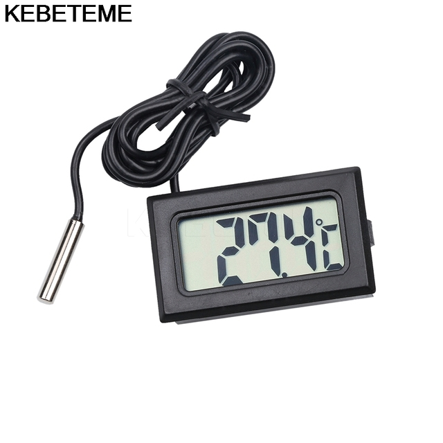 Mini Digital LCD Thermometer Fridge Temperature Sensor Freezer Thermometer for KitChen Bar Use