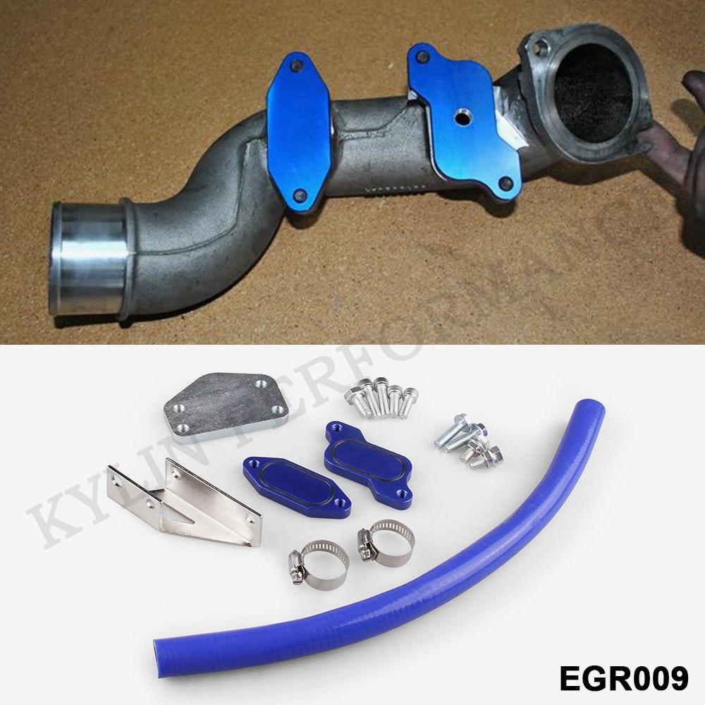 US $30 0 |EGR Delete Kit/Throttle Valve Delete Kit For 04 5 05 GMC Sierra  Chevy Silverado HD 6 6L Diesel LLY Duramax EGR009 on Aliexpress com |