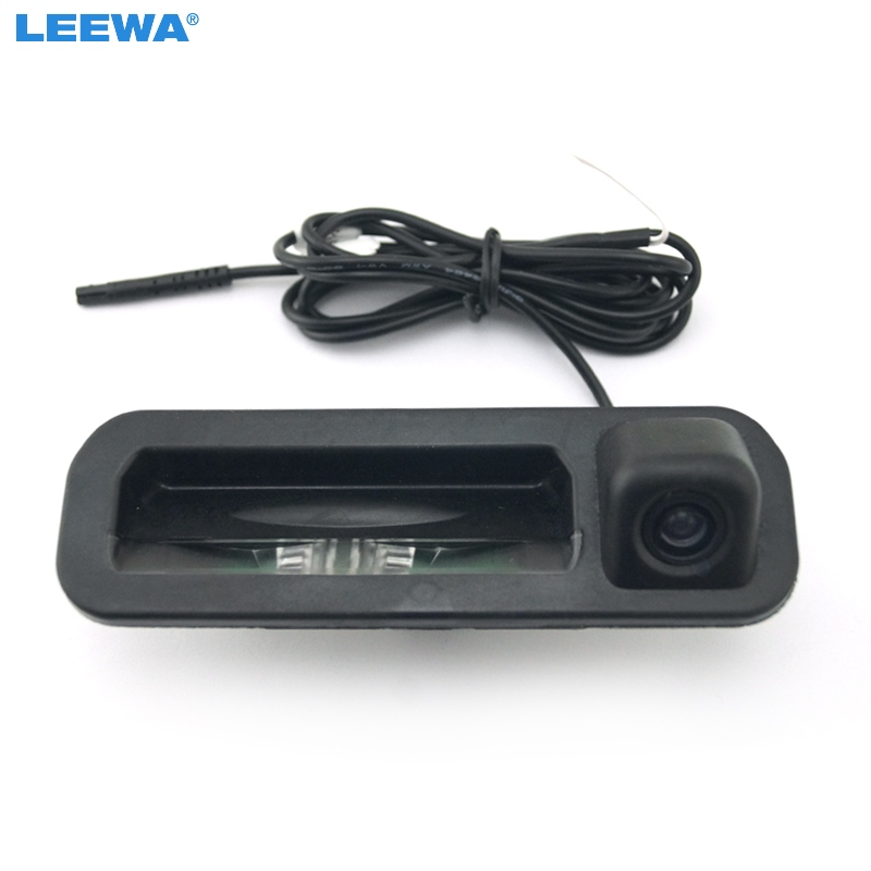 LEEWA Car rear view camera For Ford focus 2012 2013 For focus 2 focus 3 Trunk handle camera color Night vision waterproof led велосипед focus raven 2 0 20 g 2013