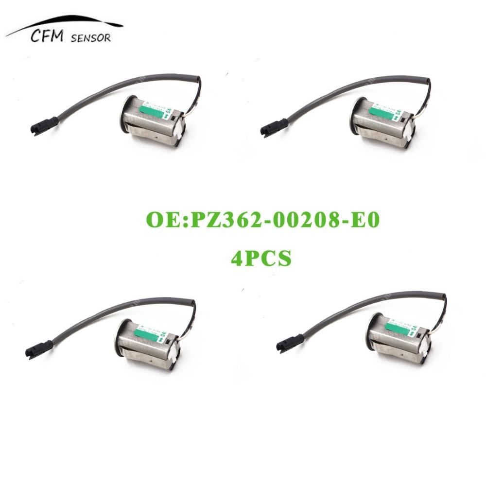 4pcs New PDC Front / Rear Parking Sensor PZ362-00208-E0 For Toyota Camry 30/40 Lexus RX350