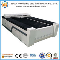 Jinan RODEO 180W laser metal cutting machine price/ 2mm stainless steel laser cutting machine