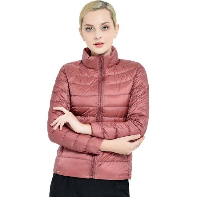 2016 Newest Winter 90% duck down Jacket women Quality down Coat female down Parka outerwear slim overcoat ultra light M1601