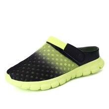 Big Size 39-46 Men Sandals Breathable Summer Shoes New Design Beach Sandalias Flip Flops Light Man Shoes Slippers Zapatillas