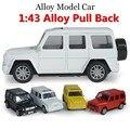 Aleación del 1:43 off road modelos de coches, simulación de super alta SUV coche de juguete con el sonido y la luz posterior a potencia, envío gratis