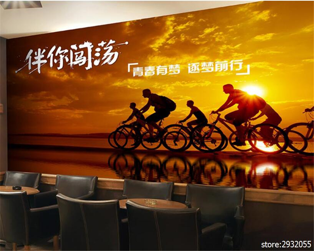 online buy wholesale sports wall mural from china sports wall beibehang fashion wallpaper outdoor parkour extreme sports poster mural background wall papel de parede wallpaper for