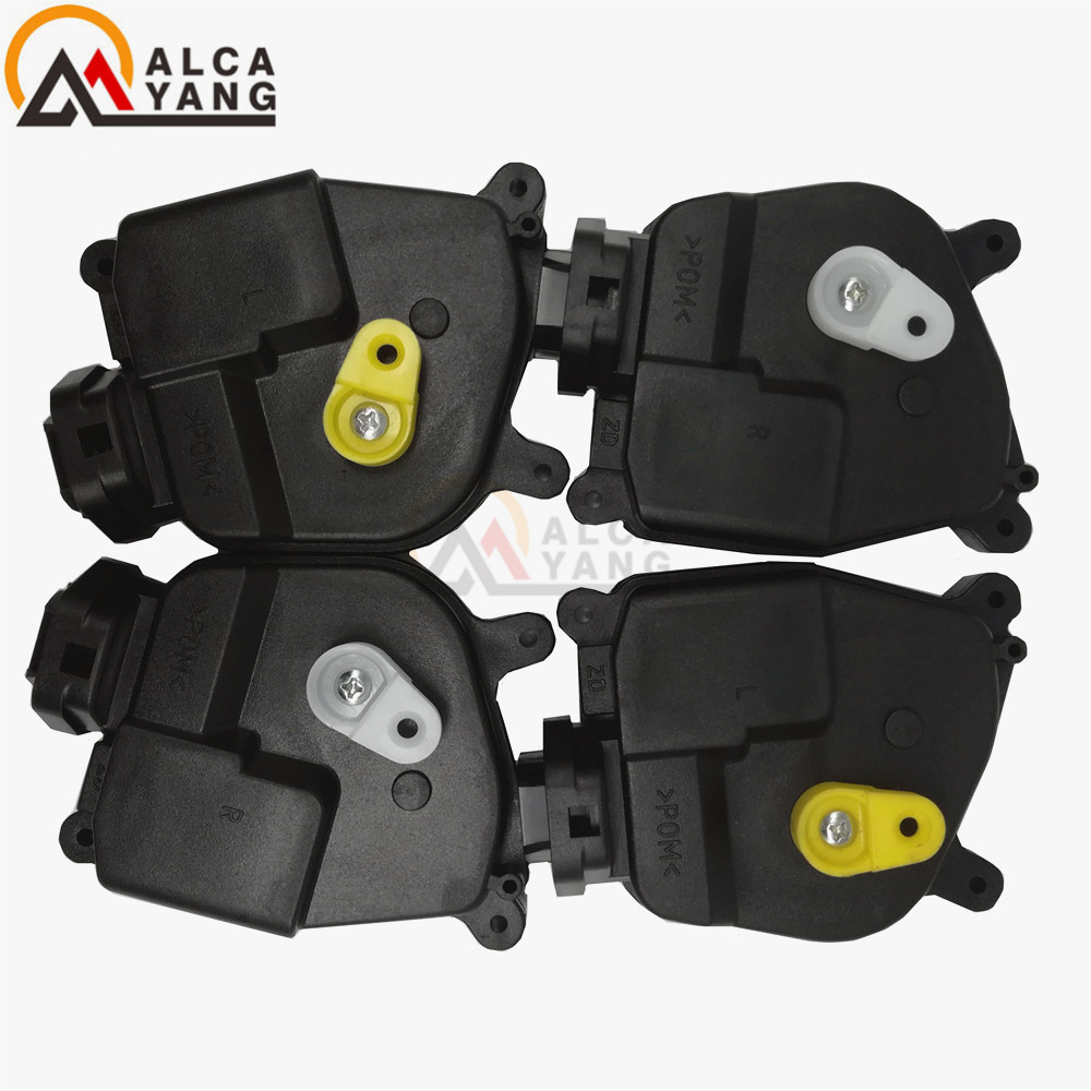 4pcs/set Rear left/Right and front left 95735-1G020 Right 95736-1G020 Door Lock Actuator for 06-11 Hyundai Accent for Kia Rio(5)