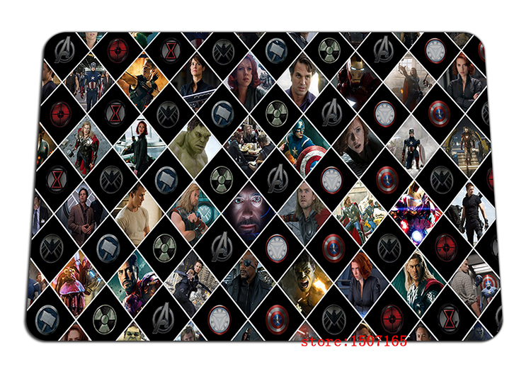 9 size cool The Avengers mouse pad 2016 new large pad to mouse computer mousepad Thickened gaming mouse mats to mouse gamer
