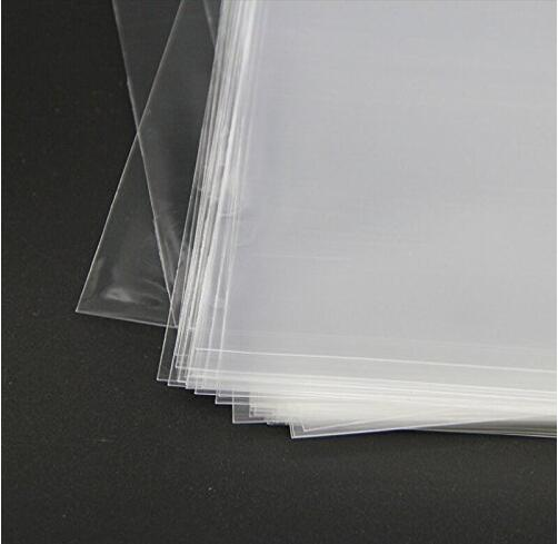 100PCS 4 quot x 6 quot Inch Crystal Clear Protective Polypropylene Storage Bags with Flap 100 Cellophane Bags in Bags amp Baskets from Home amp Garden