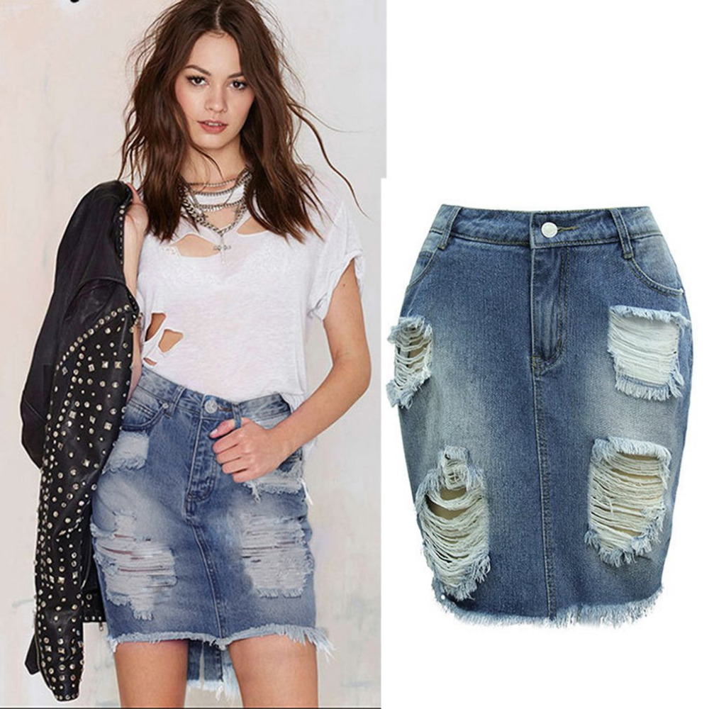 Popular Sexy Jean Pencil Skirt-Buy Cheap Sexy Jean Pencil Skirt ...