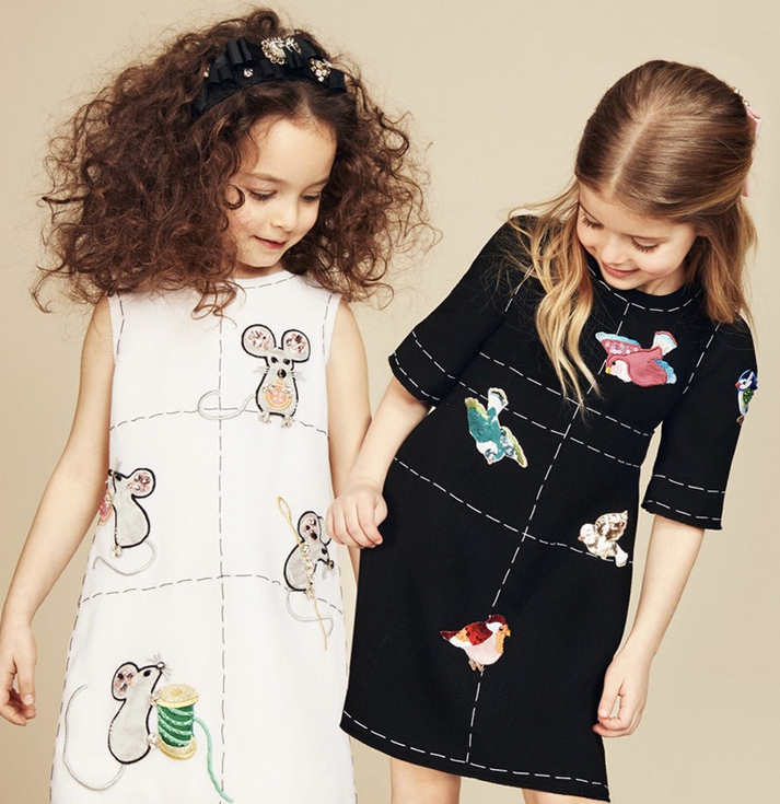 Baby Girls Dresses Cute Kids Clothes Vest Dress Cartoon Mouse Pattern Sleeveless Summer Dresses 3-9Y 2017 summer girls vest dresses cute sequined kids sleeveless dresses for girls new 1 7t princess dress fit little child