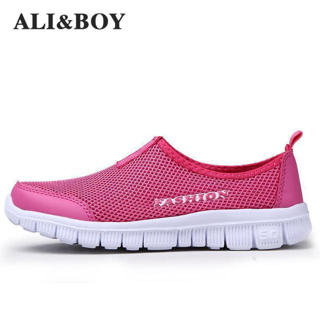 b315cbfe3 ALI&BOY New Men/Women Light Mesh Running Shoes,athletic Sport Shoes ...