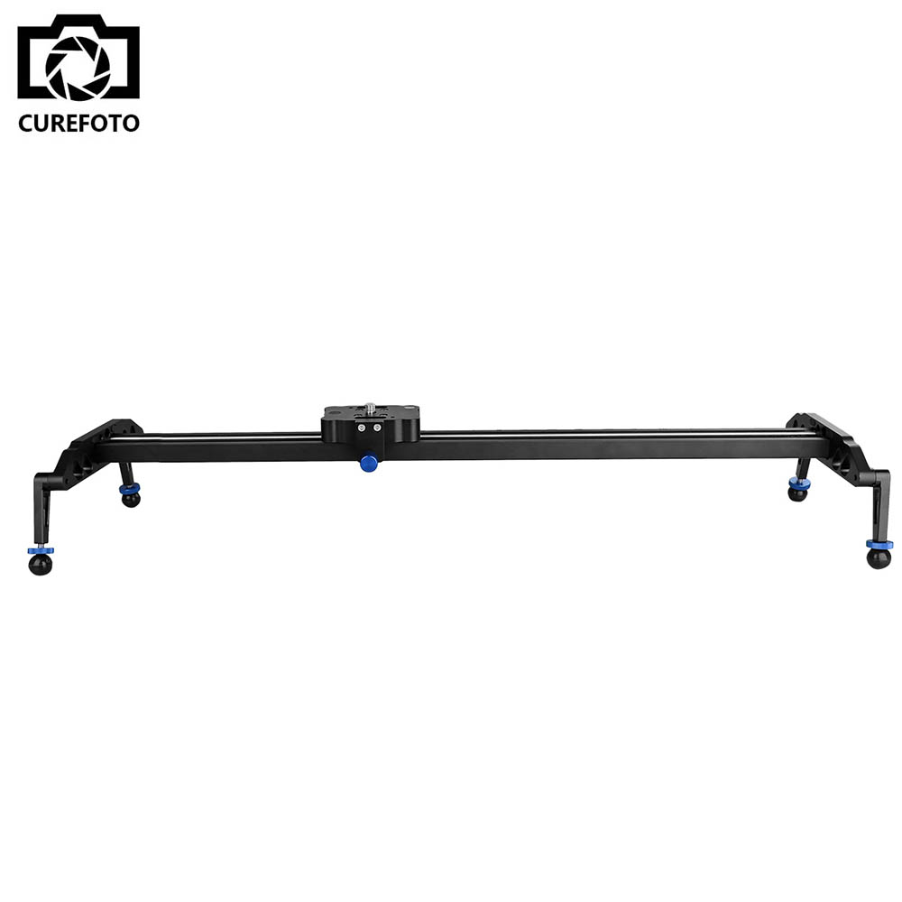 New Professional 80cm/31.5 Bearing Video Camera Slider Track Dolly Stabilizer System for DSLR Camcorder Better Than Sliding-pad new 4 wheels mobile rolling sliding dolly stabilizer skater slider motorized push cart tractor for gopro 5 4 3 3 2 1 camera