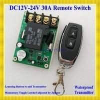 Remote Control Switches DC 12V 24V 30A Relay Wide Voltage Receiver 12V 14V 16V 24V Receiver