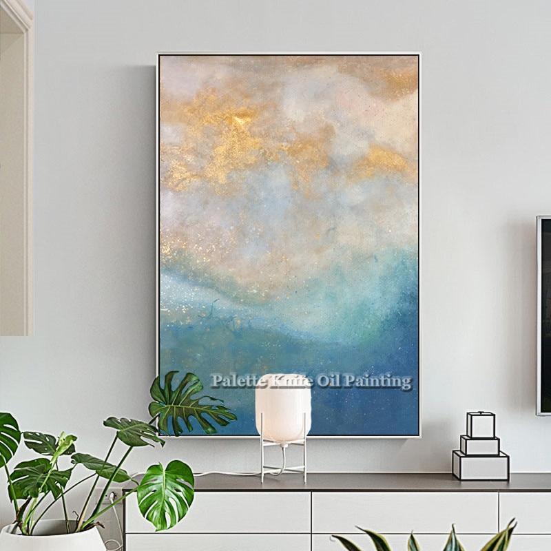 For, Acrylic, Abstract, Print, Art, Sea
