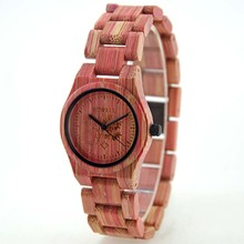 BEWELL Watch Women Bamboo Wood Watches Top Luxury Brand Wooden Ladies Quartz WristWatch Leisure Watches Women With Paper Box
