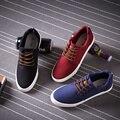 2016 de La Moda de Ocio Zapatos de Los Hombres Nuevos hombres de la Llegada Zapatos Casuales zapatos de Lona Respirables Perezosos Zapatos para Los Hombres Tamaño 38-44