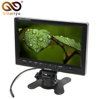 Sinairyu 9 Inch 800 480 TFT LCD Color Screen Headrest Display Car Monitor With 2CH Video