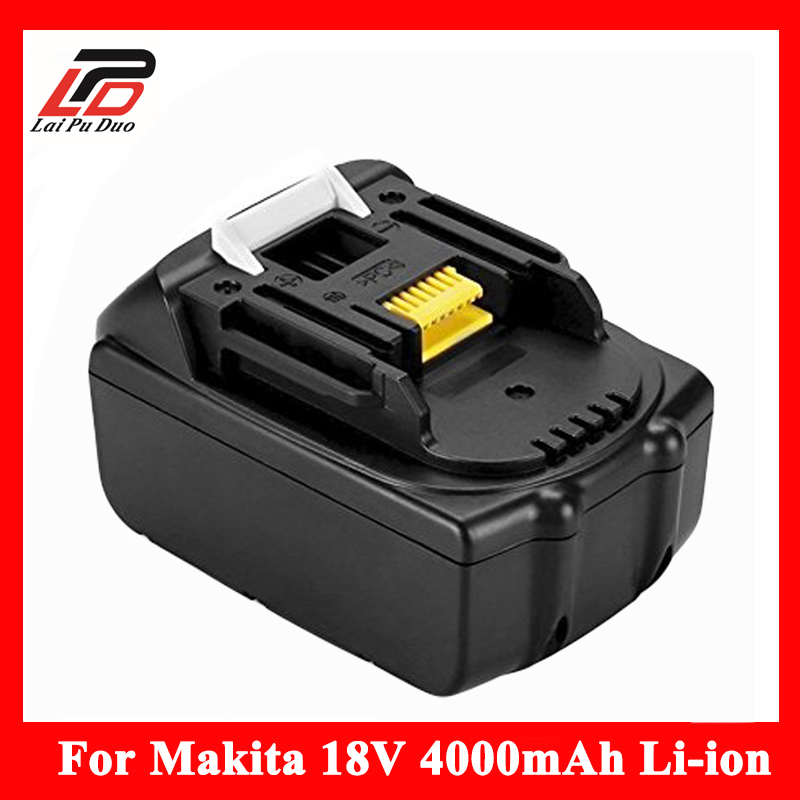 18V Li-ion 4.0 Ah Replacement for makita BL1830, LXT400,194205-1,194205-3,194230-4,194205-5 ,BTD140 ,BTL061F Power Tool Battery 18v 6000mah rechargeable battery built in sony 18650 vtc6 li ion batteries replacement power tool battery for makita bl1860