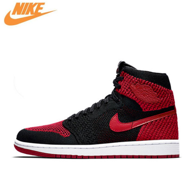 Nike Air Jordan 1 Flyknit AJ1 Men's Breathable Original New Arrival Official Basketball Shoes Sports Sneakers 919704-001 a study of platelet function in experimental obesity