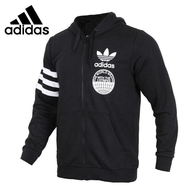 a0a9f068 Оригинальный Новое поступление 2018 Adidas Originals FULLZIP Толстовка Для  мужчин куртка с капюшоном Спортивная