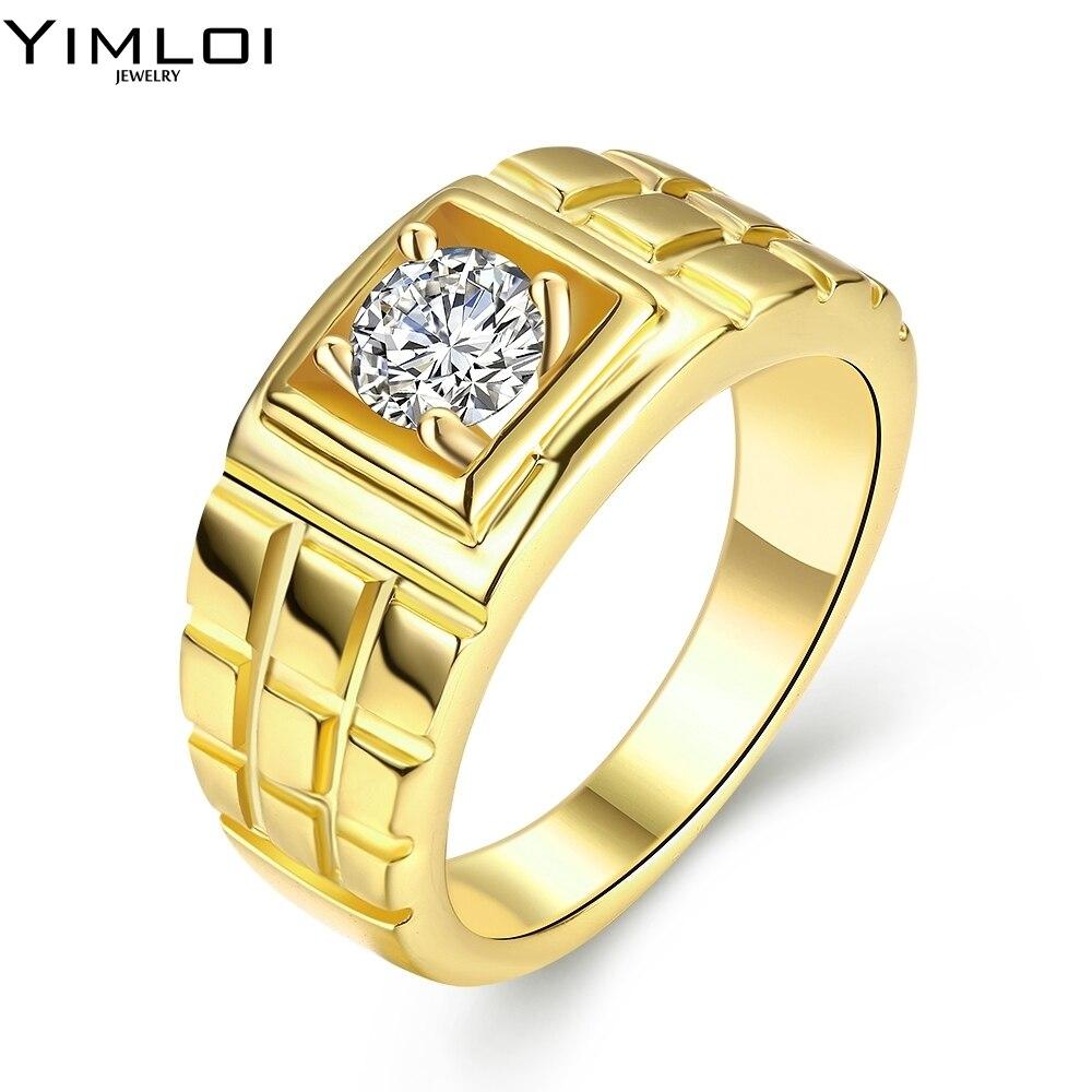online get cheap male gold wedding ring -aliexpress | alibaba