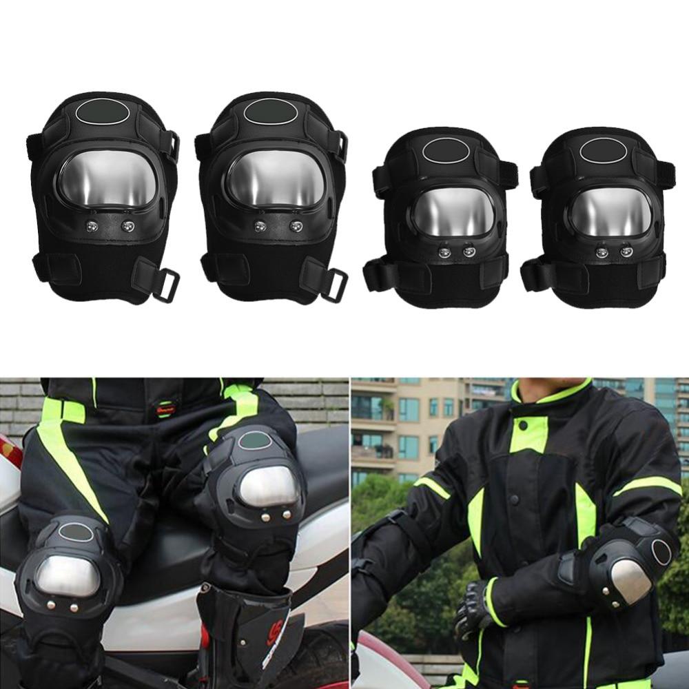 BSDDP 4 vnt. Motociklų apsauga Dviračių alkūnės kelio trinkelės Motokroso apsaugos priemonės