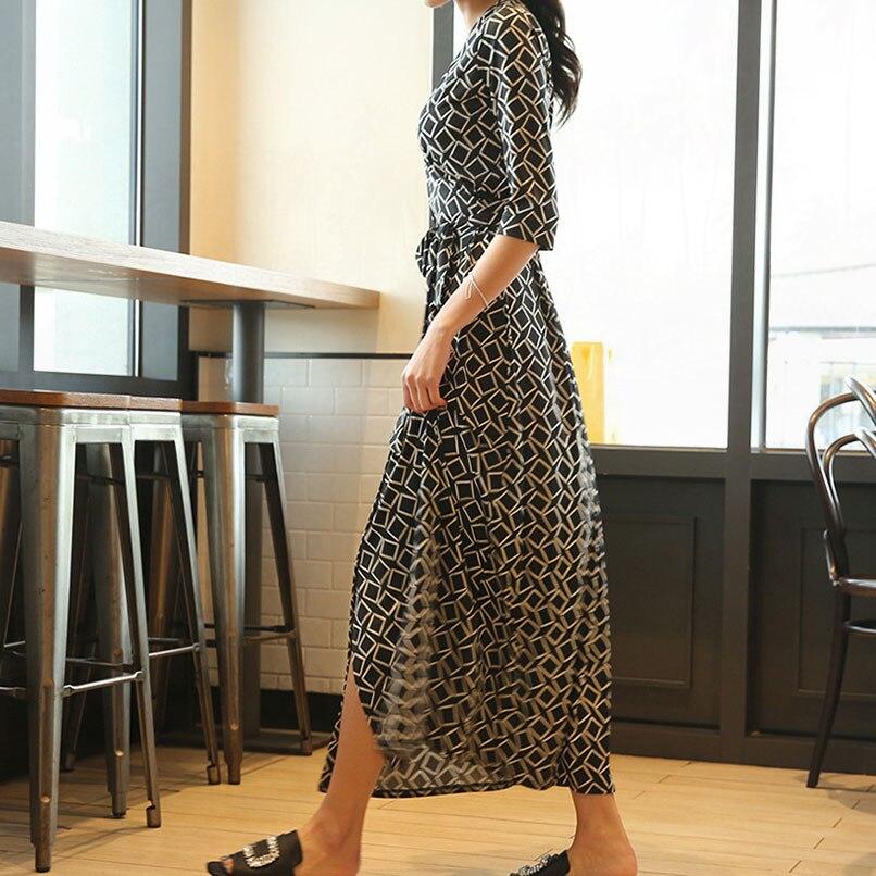 Dentelle Piece D'été Femme Robe Noir Femmes Ete Black Portefeuille Maxi Floral Efatzp Longue Robes Up Pink 2018 One F84xw1xqz