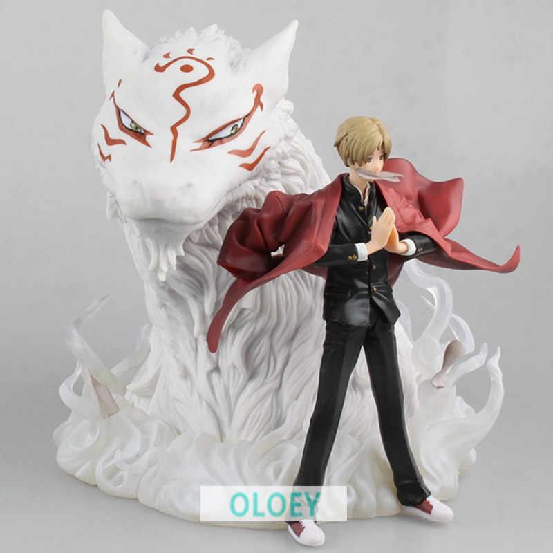 "19 ""Natsume Takashi Natsume Yuujinchou Anime ARTFX J & Madara Nyanko Sensei PVC Action Figure Modelo Toy 19 CM l113"