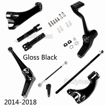 Gloss Black Forward Controls Linkages For Harley 2014 2015 2016 2017 Sportster XL 883 1200 - DISCOUNT ITEM  0% OFF All Category