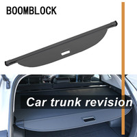 Auto Car Rear Trunk Cargo Shelf For Mercedes Benz GLC Car styling Rear Tail Racks Retractable Curtain Spacer Accessories