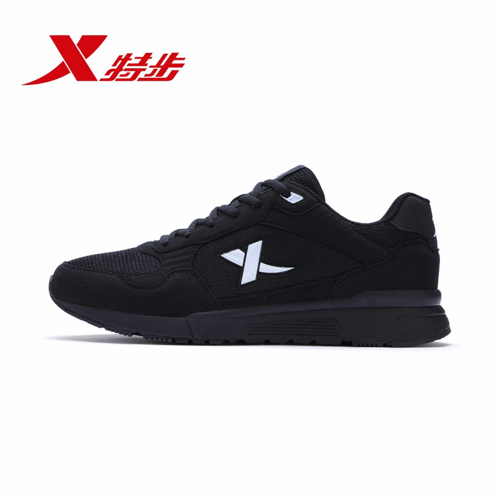 984319329662 XTEP 2018 Hot Sell Brand Zapatos De Hombre Sports Mesh Sport Sneaker Running Shoes For Men