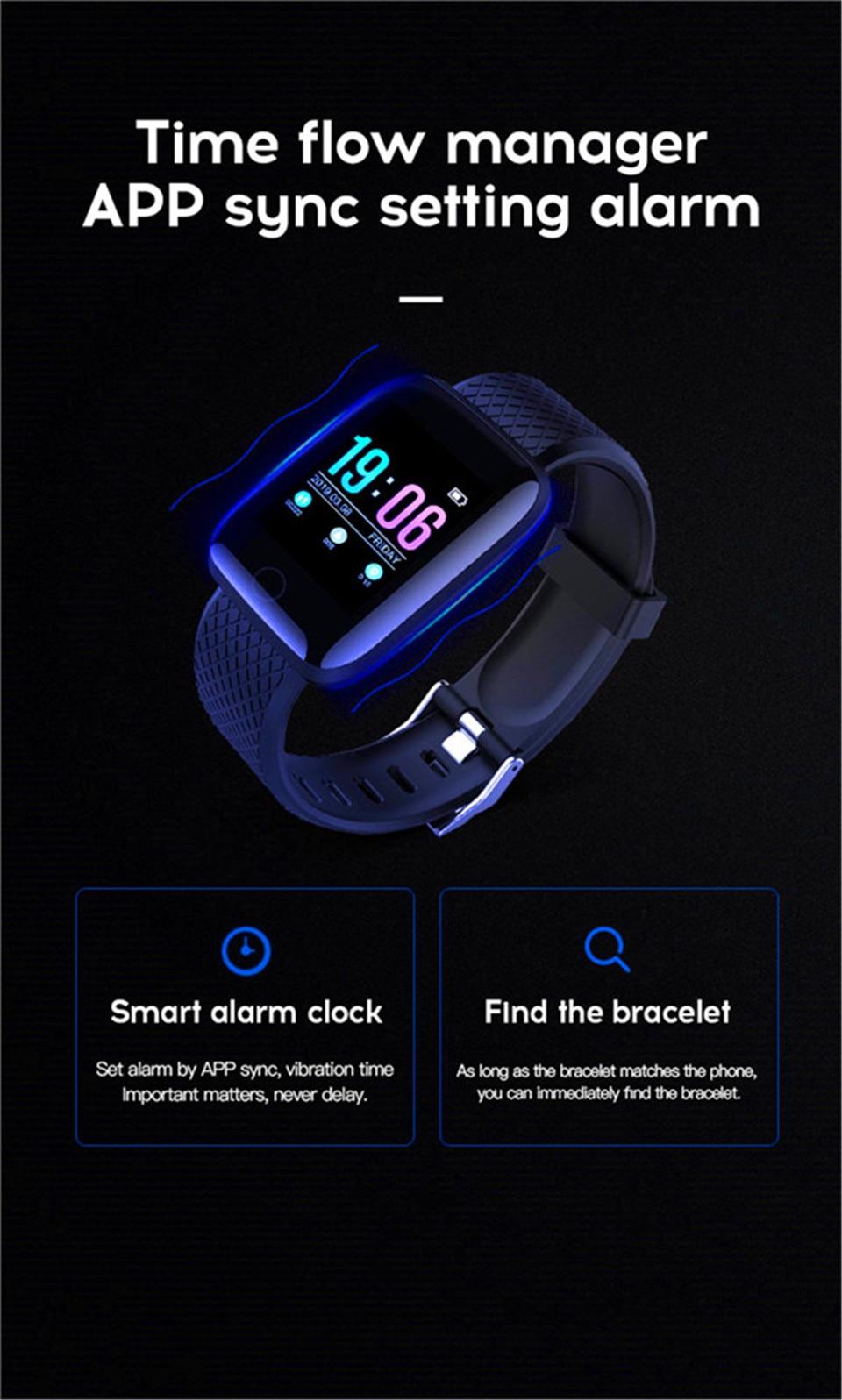 HTB1UHruO6TpK1RjSZKPq6y3UpXaL Smart Wristband Heart Rate Monitor Smart Fitness Bracelet Blood Pressure Waterproof IP67 Fitness Tracker Watch For Women Men