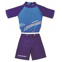 2 Piece Kids Life Vest Begin To Swim Kids UV Flotation Suit Size S M L