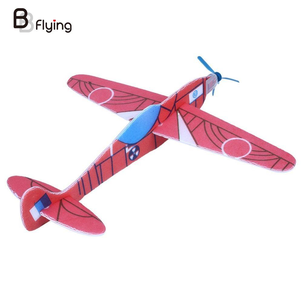 Fantastic 12pcs Flying Glider Planes Aeroplane Party Bag Fillers Childrens Kids Toys Game Prizes Gift Model Outdoor Baby Toys