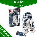 Lepin 05043 2127 Unids Genuino Serie Star El R2-D2 Robot Figura de impresión Bloques de Construcción Juguetes de Los Ladrillos 10225