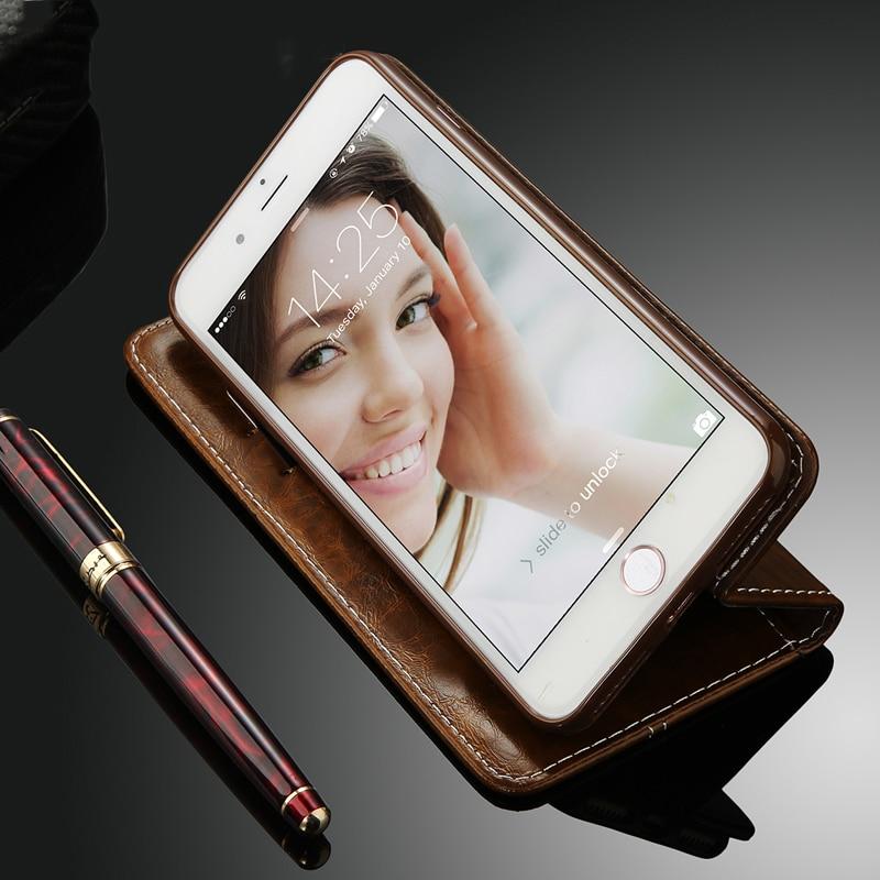 Tikitaka Flip Leather Phone Case For iPhone11 X XR XS MAX 11Pro 8Plus Wallet Card Slots Tikitaka Flip Leather Phone Case For iPhone11 X XR XS MAX 11Pro 8Plus Wallet Card Slots Cases Soft Cover For iPhone 7 6 6s Plus