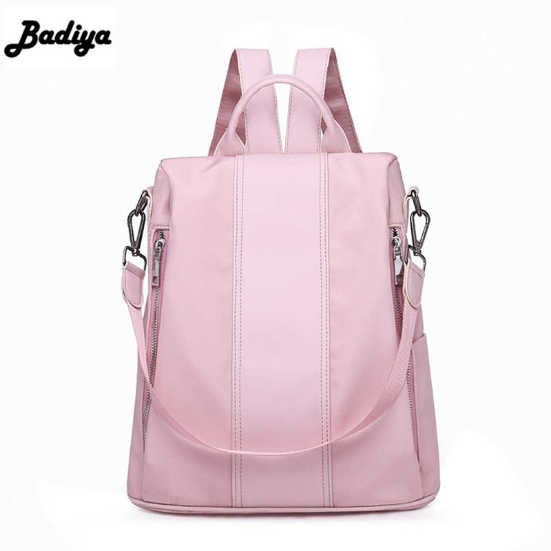 Large Capacity Anti-theft Women Shoulder Backpacks Waterproof Nylon Oxford Canvas Backpack Fashion Travel Shoulder Bags
