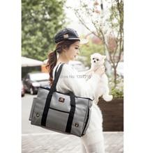 2017 New Arrival Pet Carrier Dog Outdoor Carrier Bag Handbag Portable Cool And Refreshing Stripe Lightweight Ventilate