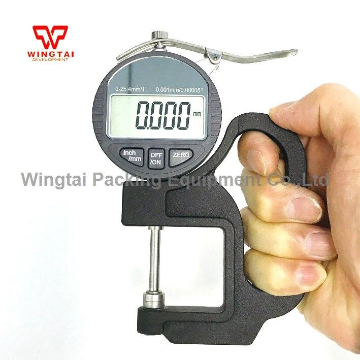 0~25mm Digital Display Micrometer paint thickness gauge/thickness gauge meter BY04 digital 0 001mm accuracy 0 25mm measuring range l1h thickness gauge