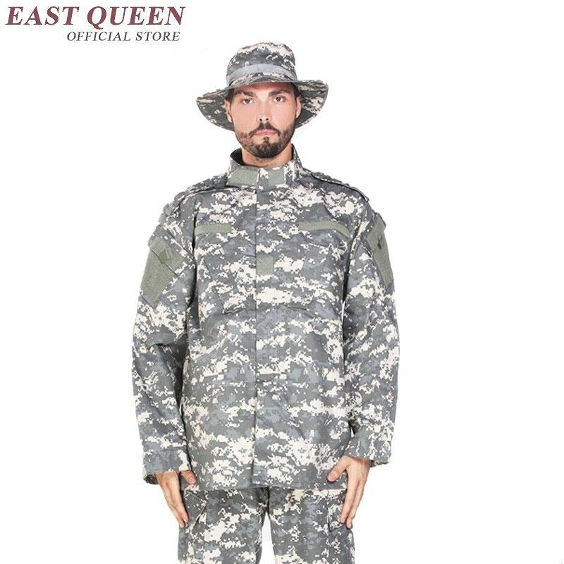 Vêtements de chasse Camouflage costumes en plein air militaire tactique uniforme de formation de l'armée uniforme pour les jeux Airsoft AA2400 YQ - 5