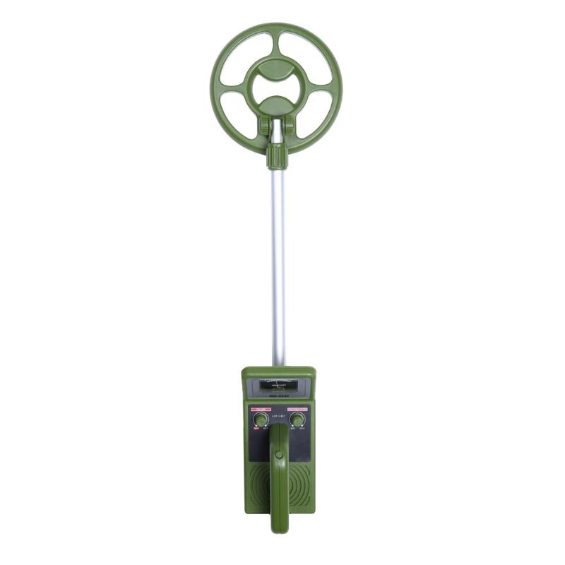 Professional Metal Detector MD-3030 Underground Explore and Gold Metal Detector Green for Coins Treasure Hunter Gold