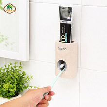 MSJO Toothpaste Squeezers Stand Wall Mount Kids Bathroom Accessories Decor Automatic Toothbrush Holder  Toothpaste Dispenser automatic toothpaste dispenser dust proof toothbrush holder wall mount stand bathroom accessories toothpaste squeezers tooth b4