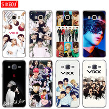 silicone cover phone case for Samsung Galaxy J1 J2 J3 J5 J7 MINI 2016 2015 prime VIXX LR Kpop ST RLIGHT(China)