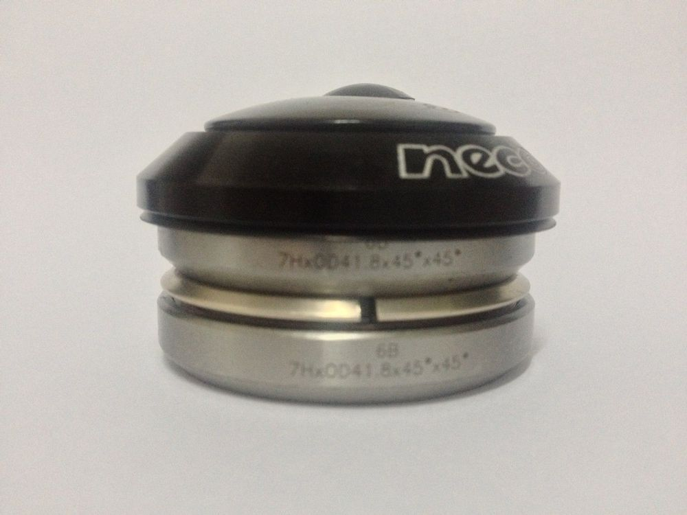 """Neco Headset 1-1//8/"""" 1-1//2/"""" Tapered Integrated MTB frame Road Bike Steerer Tube"""